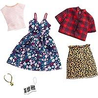 Barbie-GHX57 Pack de accesorios de moda vestido