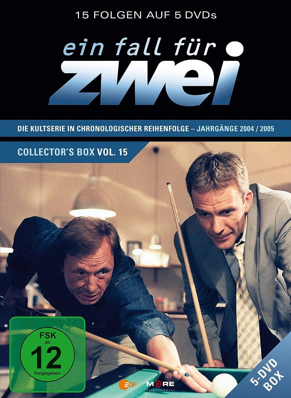 Ein Fall Für Zwei Collectors Box 19 5 Dvds Amazonde