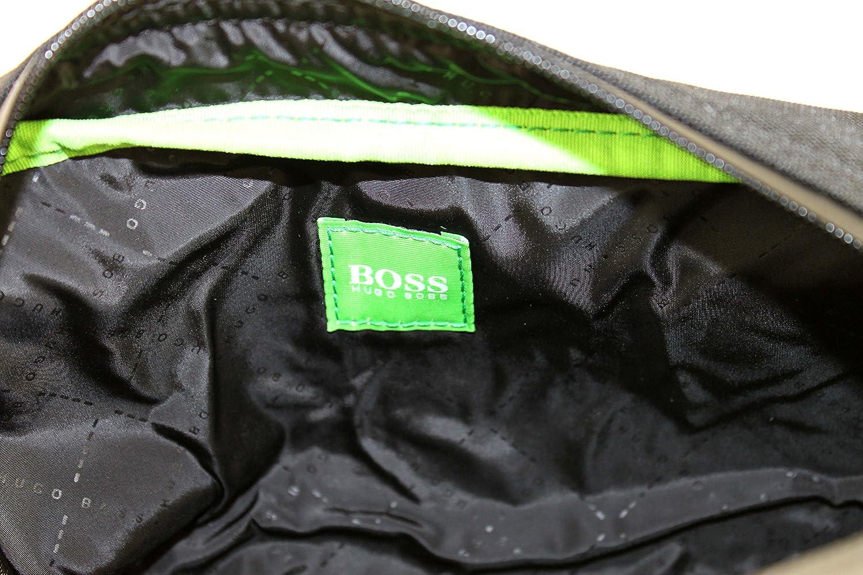 Boss Green 50332714 Trousse de toilette pour homme Noir