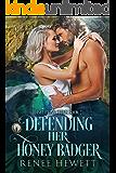 Defending Her Honey Badger: Federal Paranormal Unit (Disrupting Crinis Book 2)