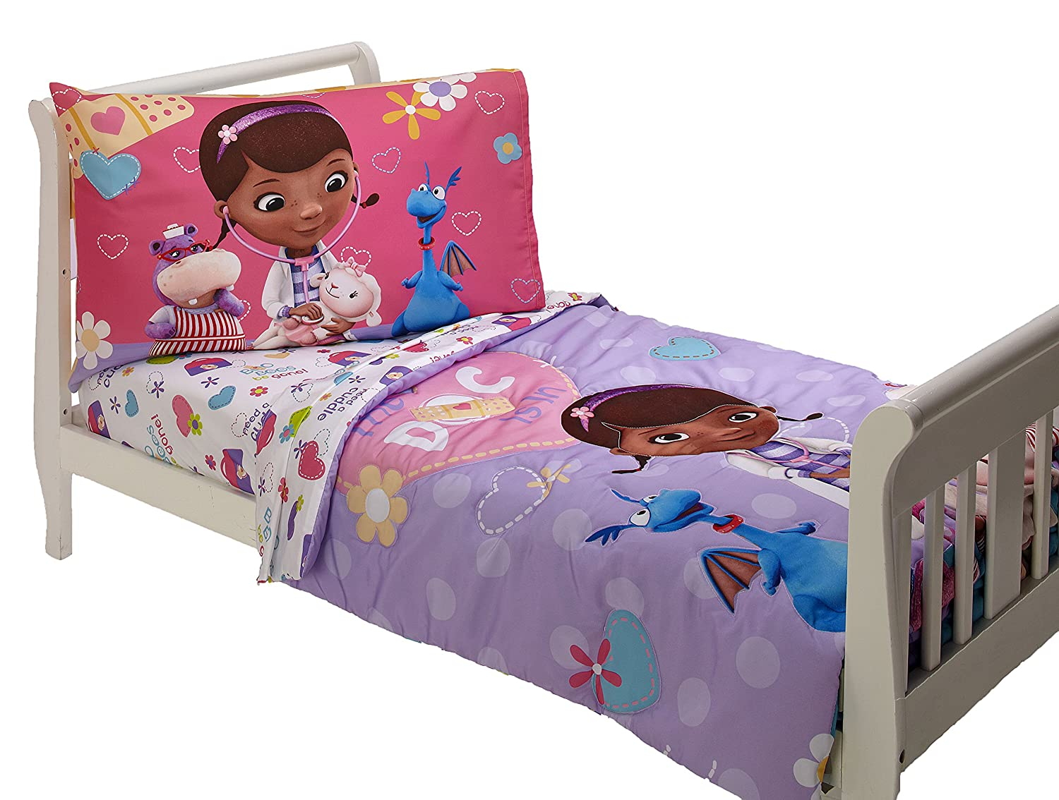 Disney 4 Piece Toddler Set, Doc Mcstuffins Crown Crafts Inc 7725416