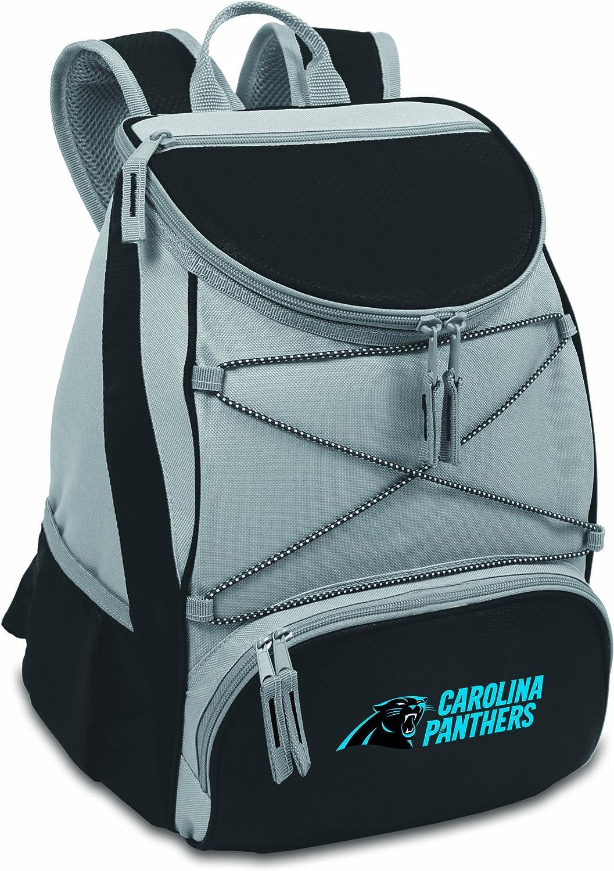 NFL Carolina Panthers PTX Insulated Backpack Cooler, Black