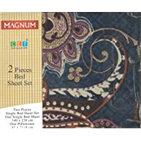 BYFT Magnum - Bed Sheet Set With Pillow Cover - Mix - Set of 2