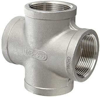 1//8 NPT Male Hex Head Plug Class 150 Stainless Steel 316 Cast Pipe Fitting