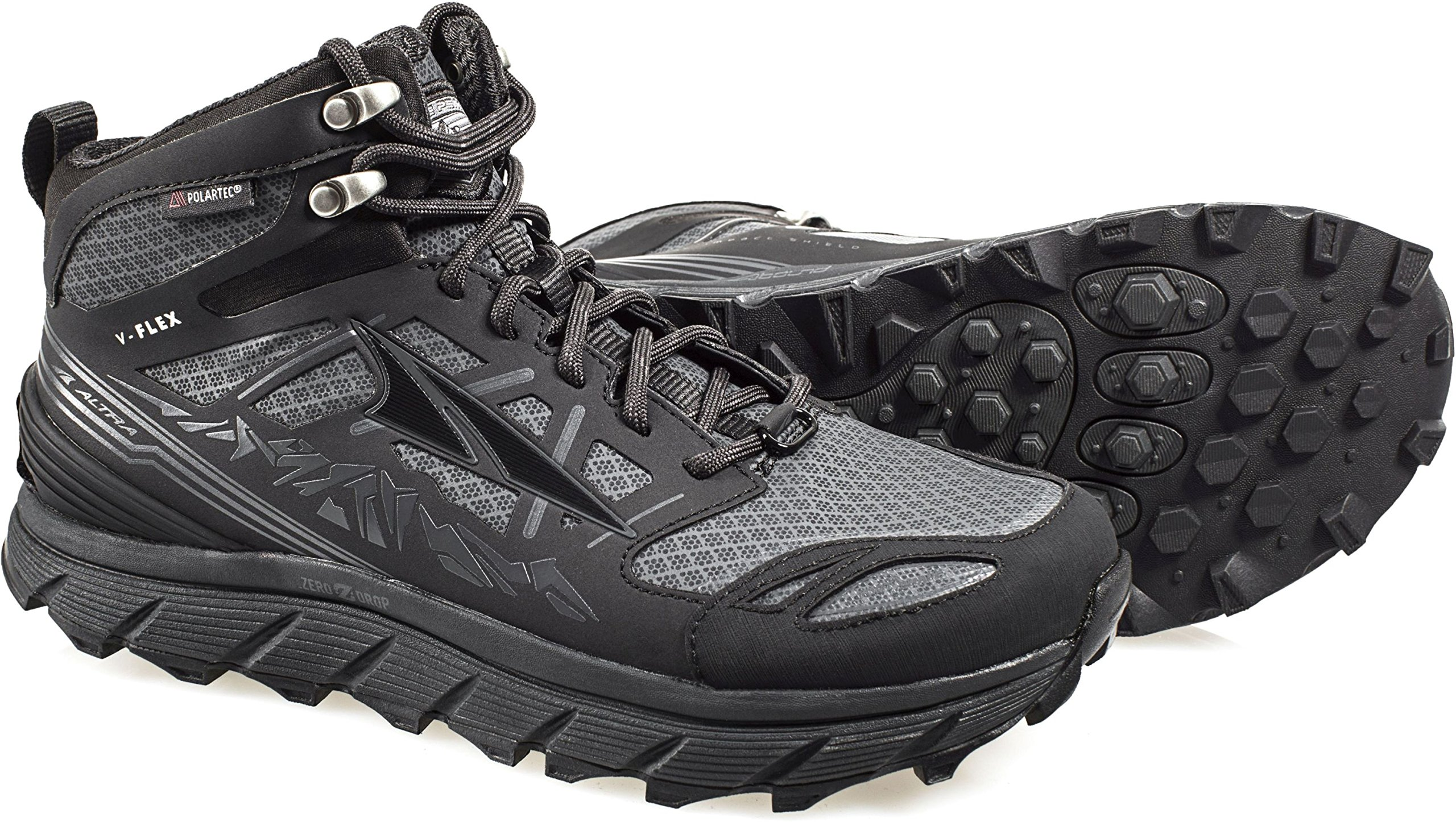 Altra Lone Peak 3 Mid Neo Running Shoes - Women's Black 11