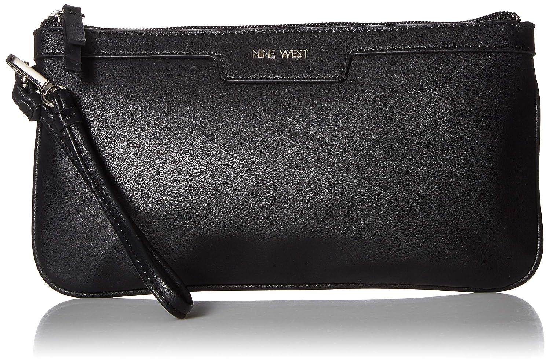 Nine West Table Treasures Wristlet Handbag Black One Size Table Treasures E//w Wristlet