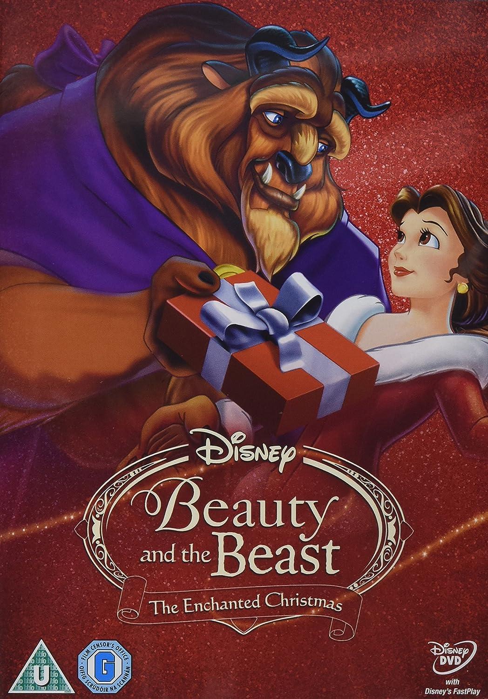 Enchanted Christmas.Beauty The Beast The Enchanted Christmas Dvd Amazon
