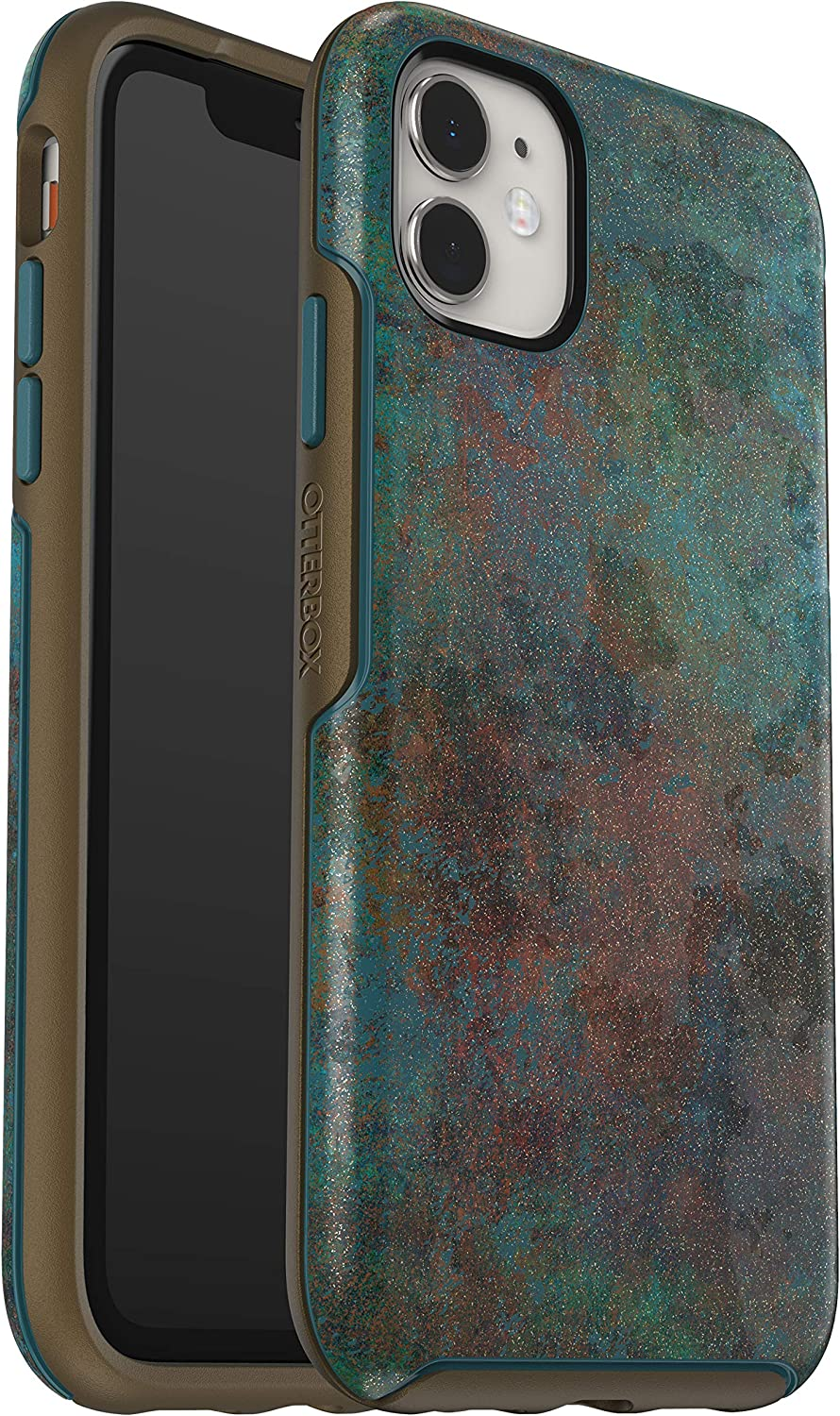 OtterBox SYMMETRY SERIES Case for iPhone 11 - FEELING RUSTY (COLONIAL BLUE/BRONZE/FEELING RUSTY IML)