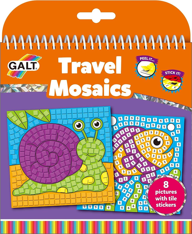 UK Seller Kids Craft Activity Kit -Boys Girls Galt First Mosaic Pictures