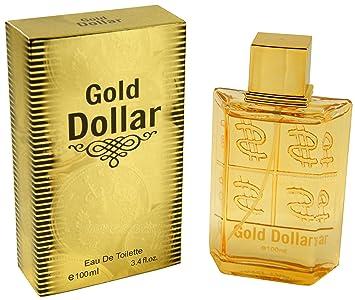 Mens Gold Dollar Eau De Toilette Spray Fragrance 100 Ml Amazonco
