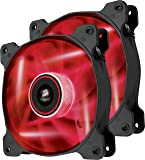Corsair  Air Series SP 120 LED Red High Static Pressure Fan Cooling - twin pack