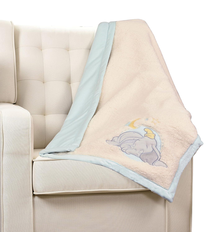 Disney Dumbo Ivory Baby Blanket Nemcor 33964-311-BLKT-DMBO