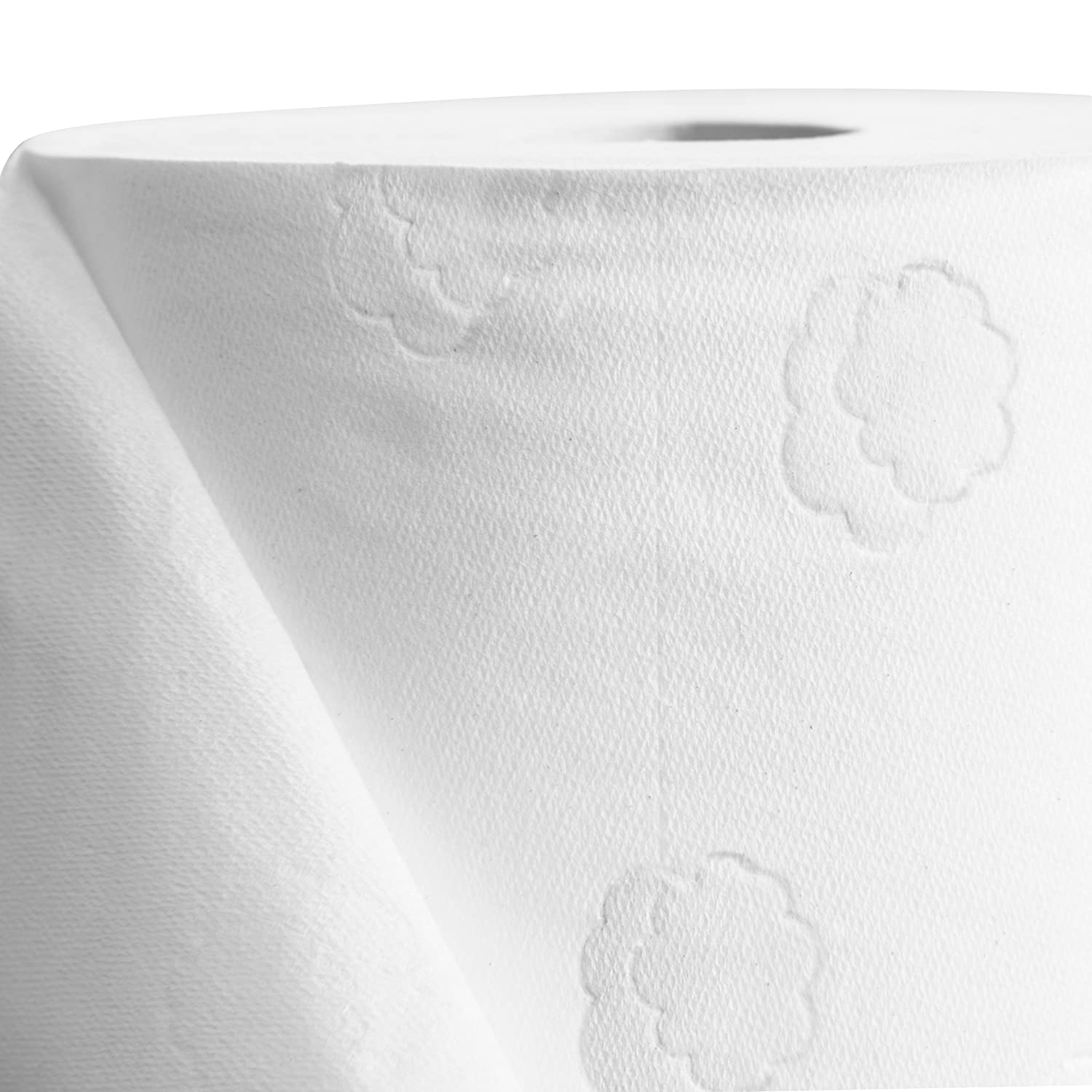 Amazon.com: White Cloud fuerte y suave 2 capas papel ...
