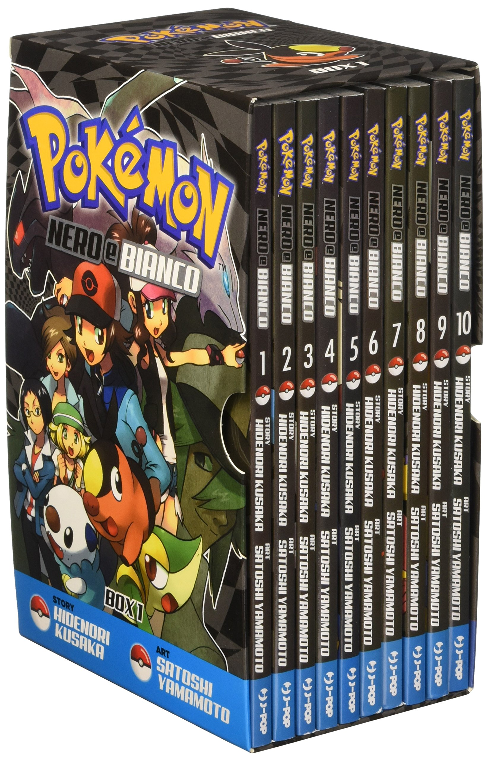 Pokémon Nero e Bianco box 1 Johto World