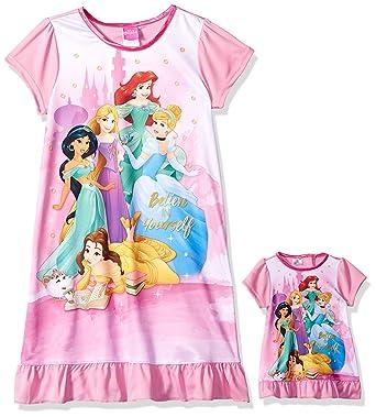 Baby Girls Kids Disney Princess Moana Elsa Nightdress Pyjamas Nightwear Nightie