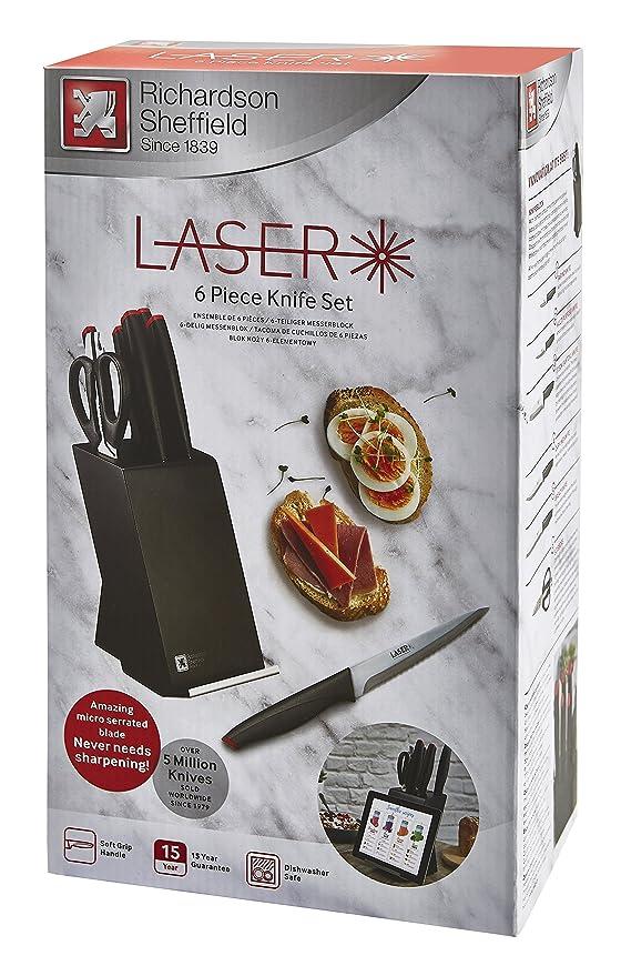 Amazon.com: Richardson Sheffield R02300P502Z85 Laser 6pc ...