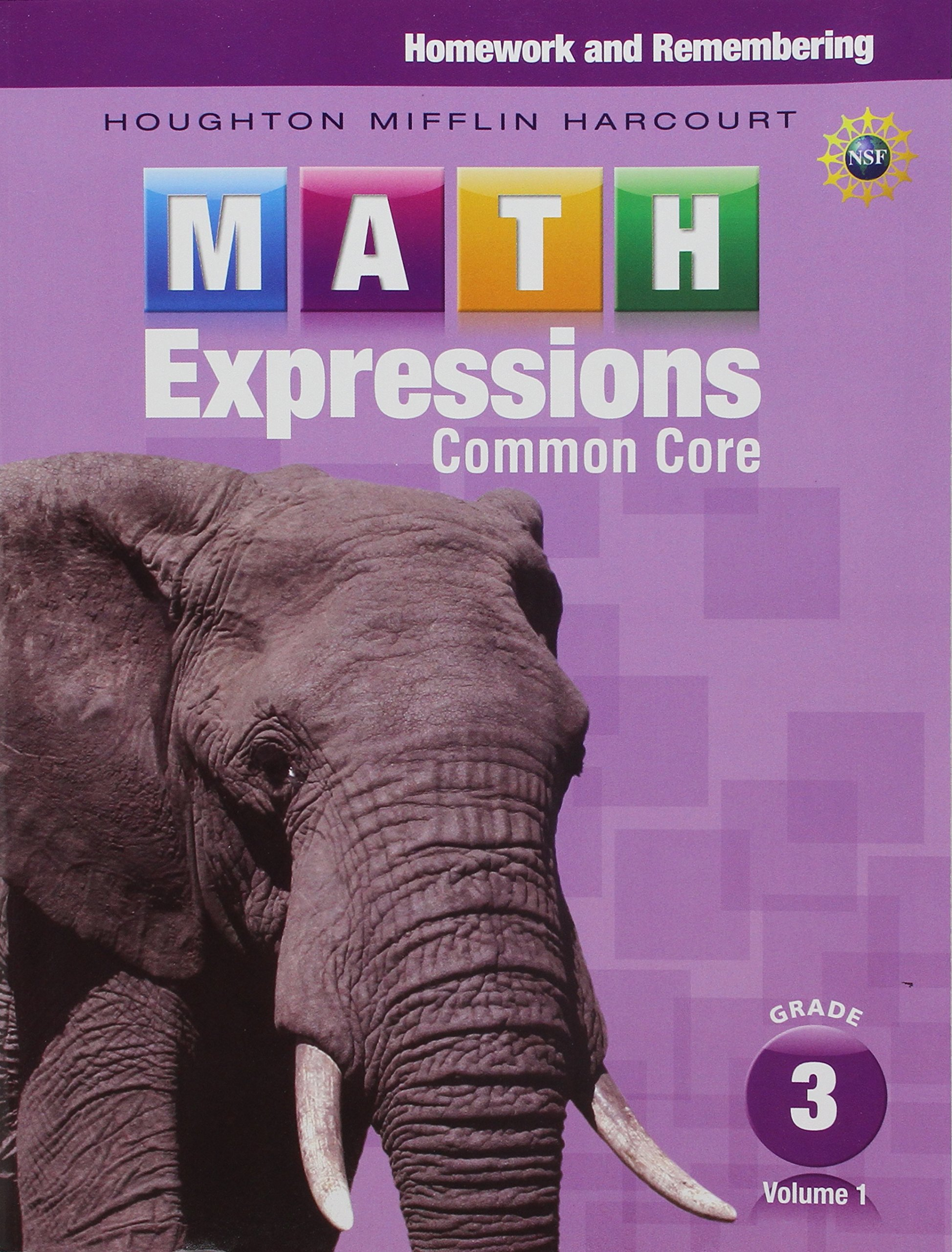 Homework Remembering Volume 1 Grade 3 Math Expressions Houghton Mifflin Harcourt 9780547824239 Amazon Com Books