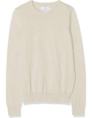 563de254 Amazon Brand – MERAKI Women's Lightweight Cotton Crew Neck Jumper