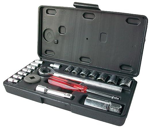 """4 opinioni per CON:P B20795- Set chiavi a tubo 1/4"""" e 3/8"""", 20 pezzi"""
