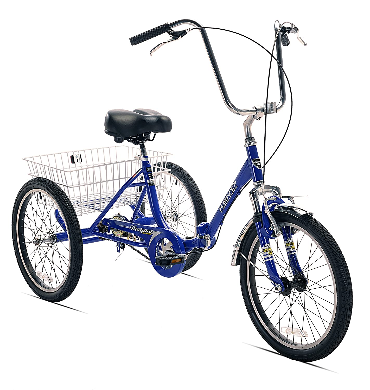 KENT Adult Westport Folding Tricycle– Best Choice for the Money fold and go tricycle for adults