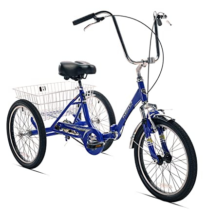 5921ec9a5b5 Image Unavailable. Image not available for. Color: Kent Adult Westport  Folding Tricycle