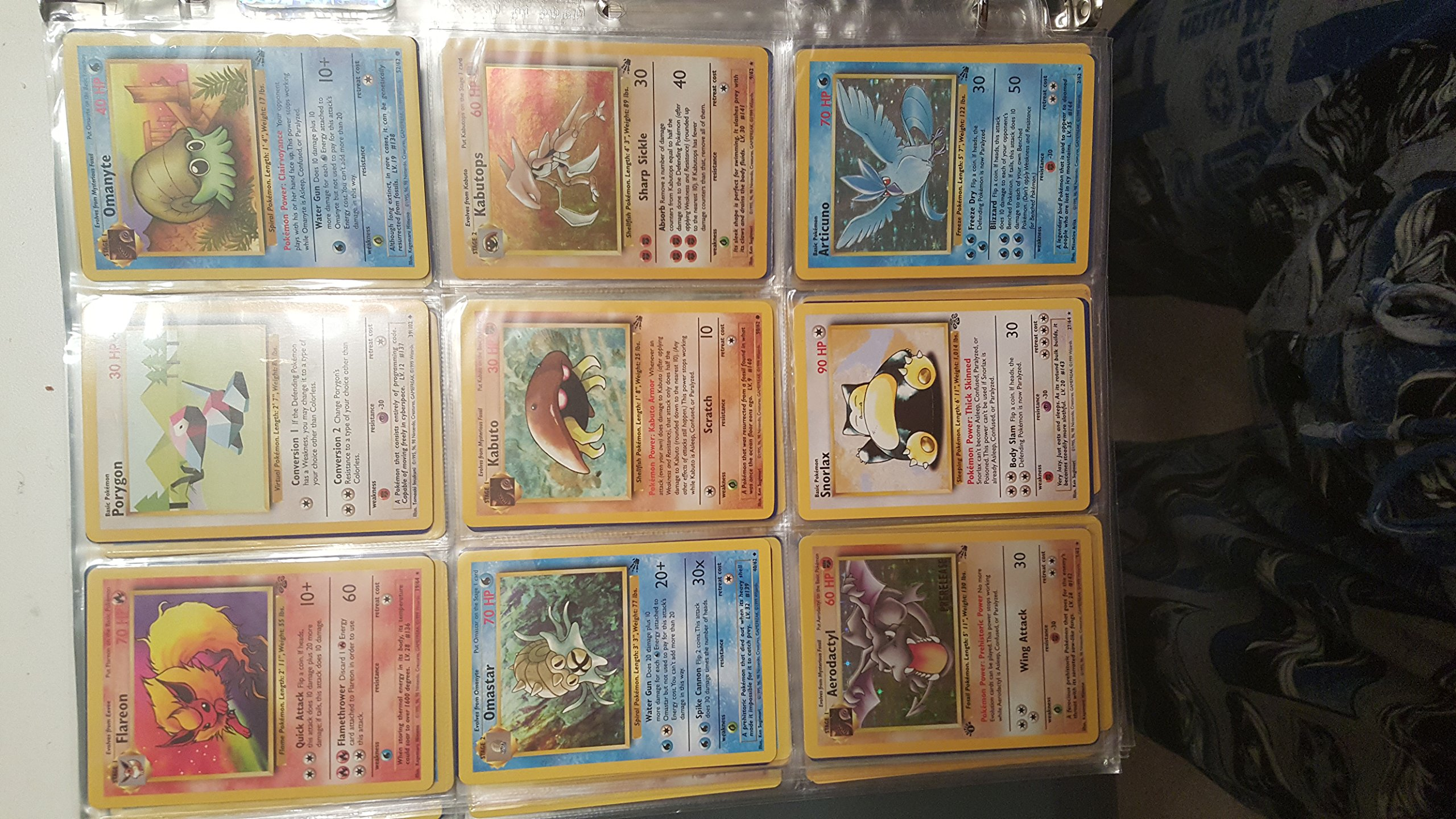 Pokemon COMPLETE Set of ORIGINAL 151/150 Cards (Contains Base, Jungle, Fossil Cards) by Pokemon (Image #8)