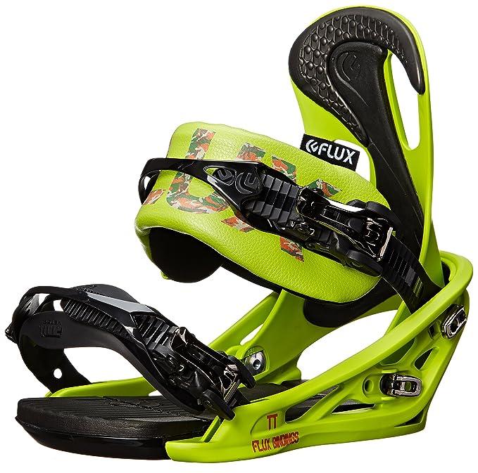 Flux Fijaciones TT Snowboard Vinculante, Unisex, Lime Green ...