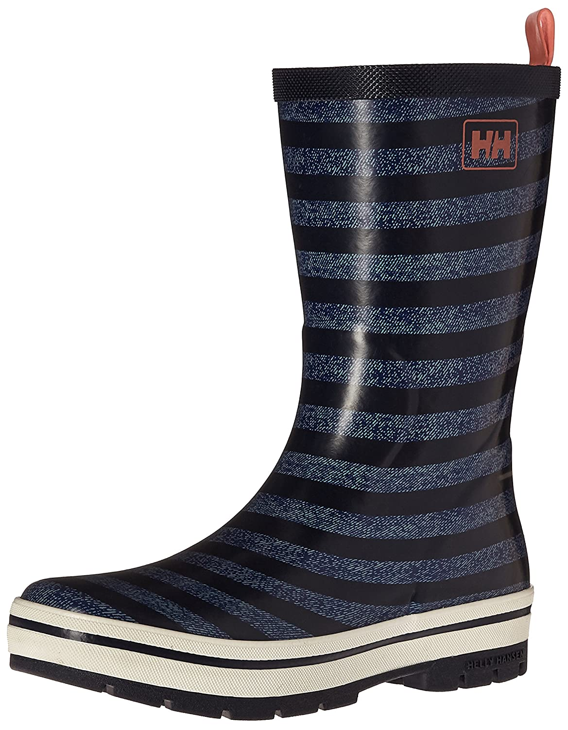 Helly Hansen Women's Midsund 2 Graphic Rain Boot B01GNSHWRG 8 B(M) US|Night Blue/Charcoal/Evening Blue/Bright Bloom/Blanc De Blanc