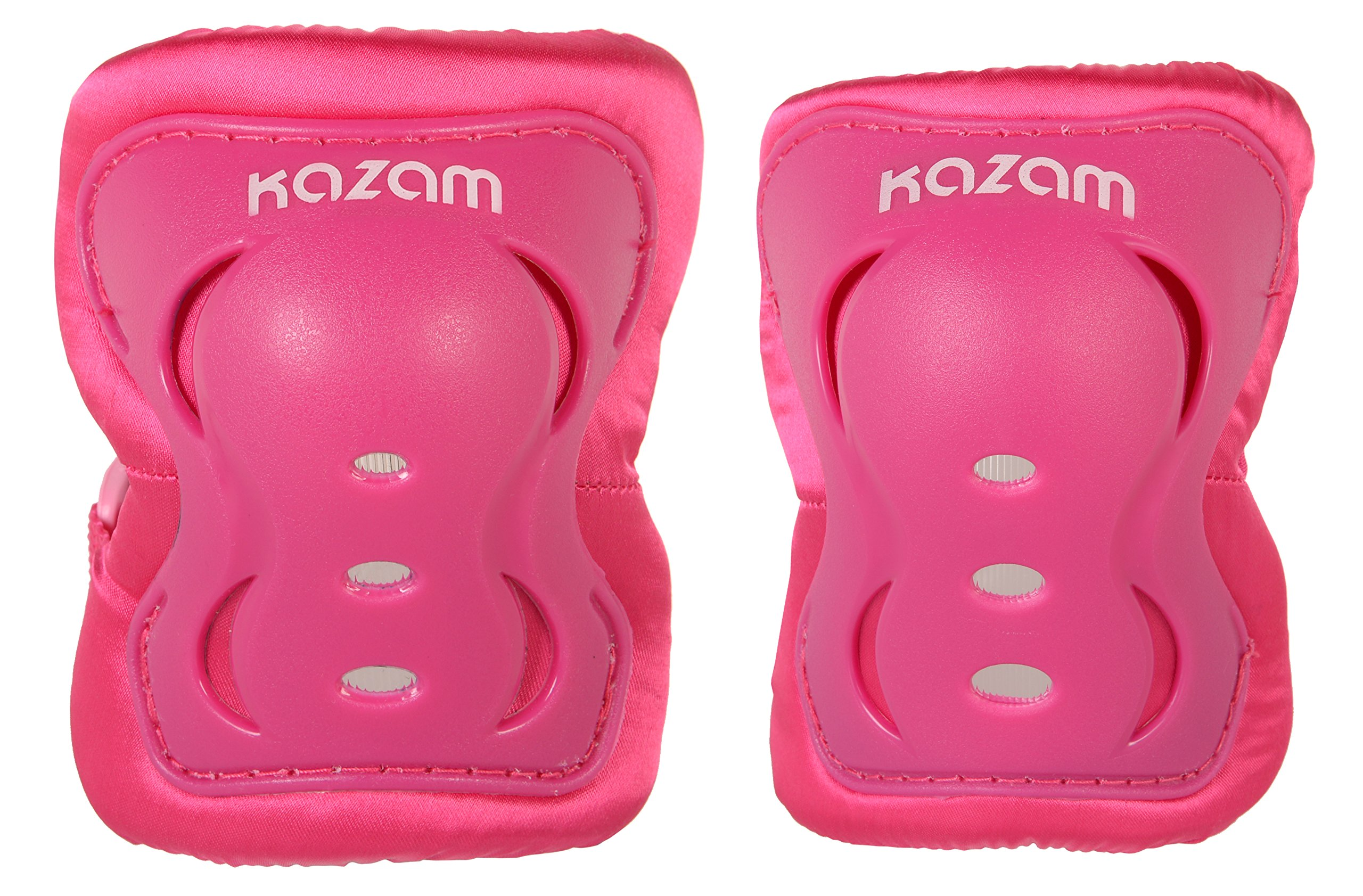 KaZAM Girls Multi-Sport Knee and Elbow Pad Set, Pink