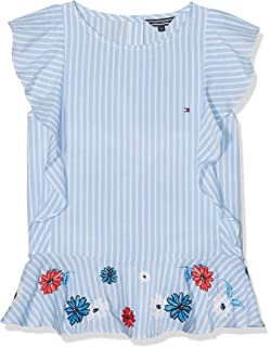 ad672335a234a8 Tommy Hilfiger Girl s C Broderie Anglais Top S S Vest  Amazon.co.uk ...