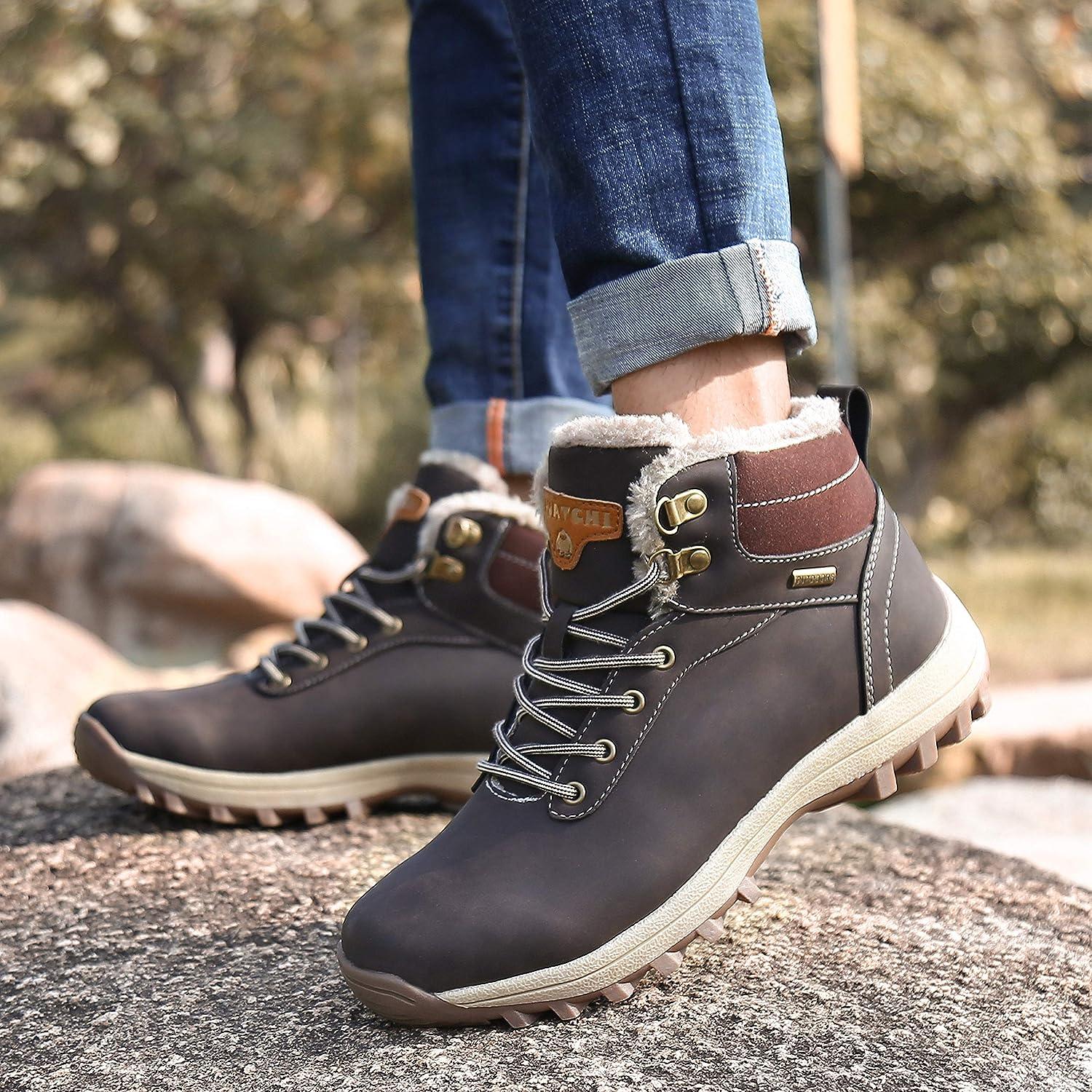 Chaudes L/ég/ère Antiderapante Mishansha Chaussures dhiver pour Homme et Femme