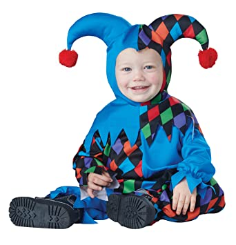 Attractive California Costumes Baby Boysu0027 Lilu0027 Jester Infant, Multi 12 To 18 Months
