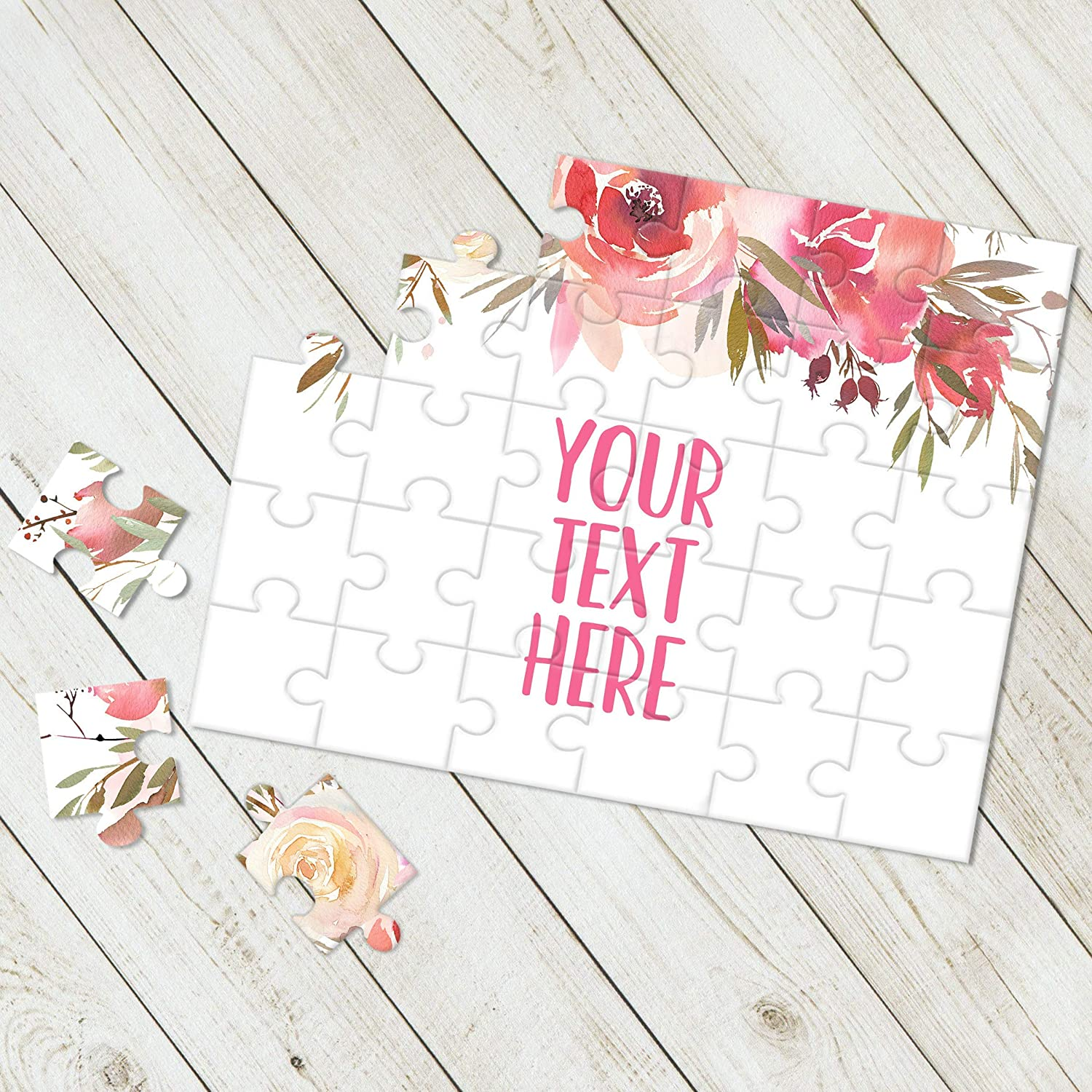 Create Your Own Puzzle Pregnancy Announcement CYOP0118 Custom Puzzle Personalized Puzzle Wedding Announcement Announcement Ideas