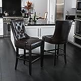 Amazon Com Prescott Modern Table And Stool Set With