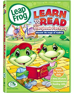 leapfrog learn to read at the storybook factory