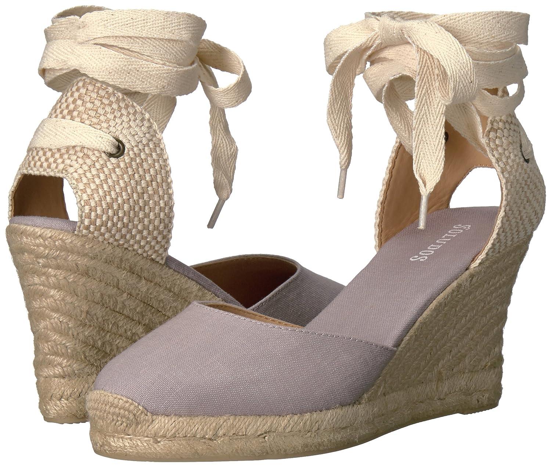 Soludos Women's Tall (90mm) Wedge US|Gray Sandal B06X92KKRC 5 B(M) US|Gray Wedge 247ae6