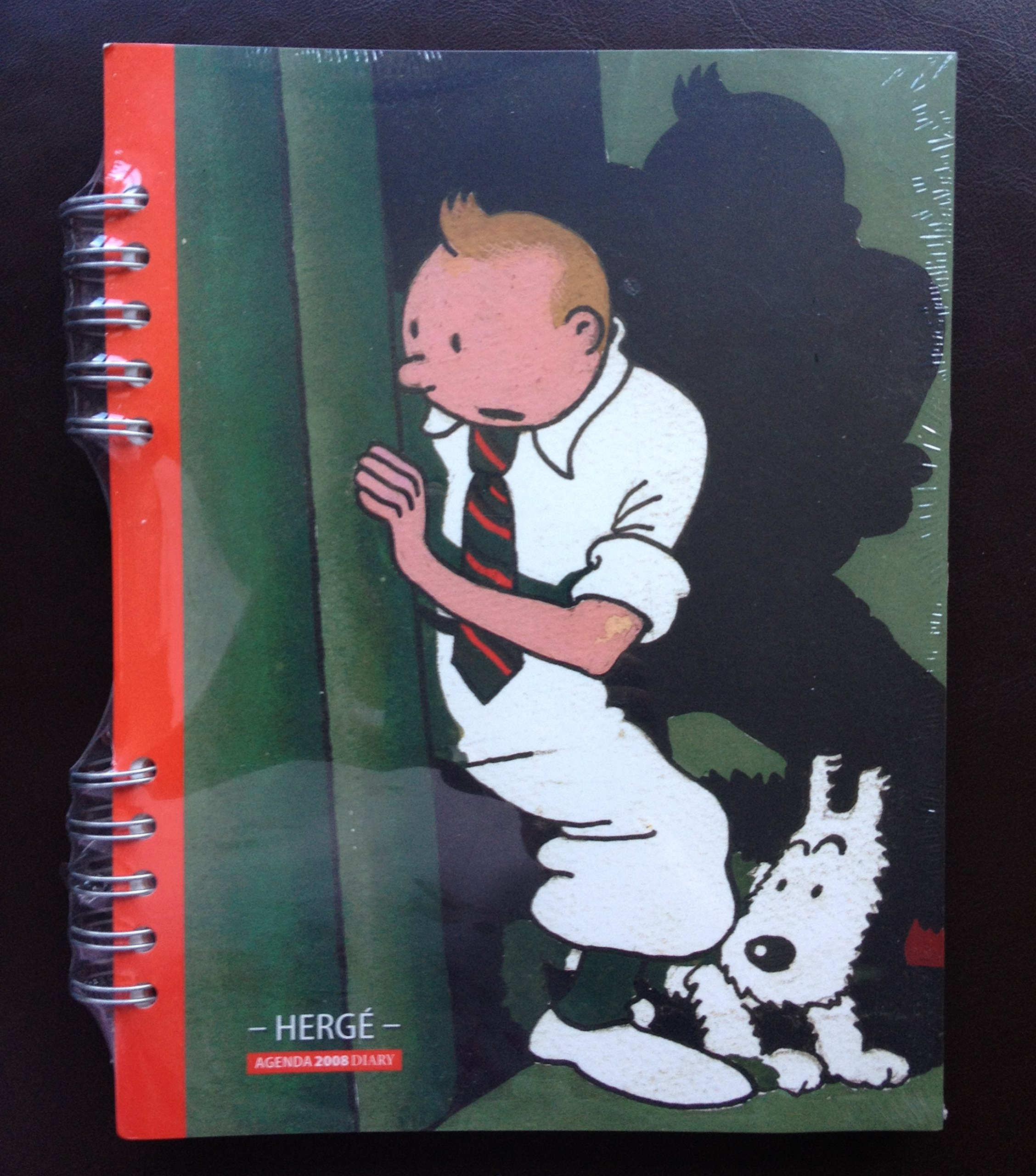 AGENDA TINTIN 2008: Amazon.es: HERGE, EDITIONS MOULINSART ...