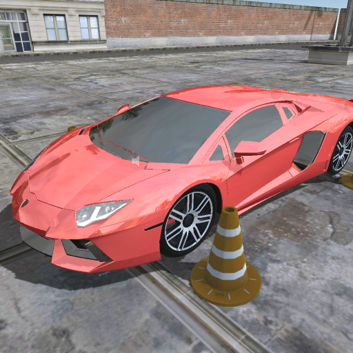 Race Car Parking Simulator 3D (Halloween Games Adults)