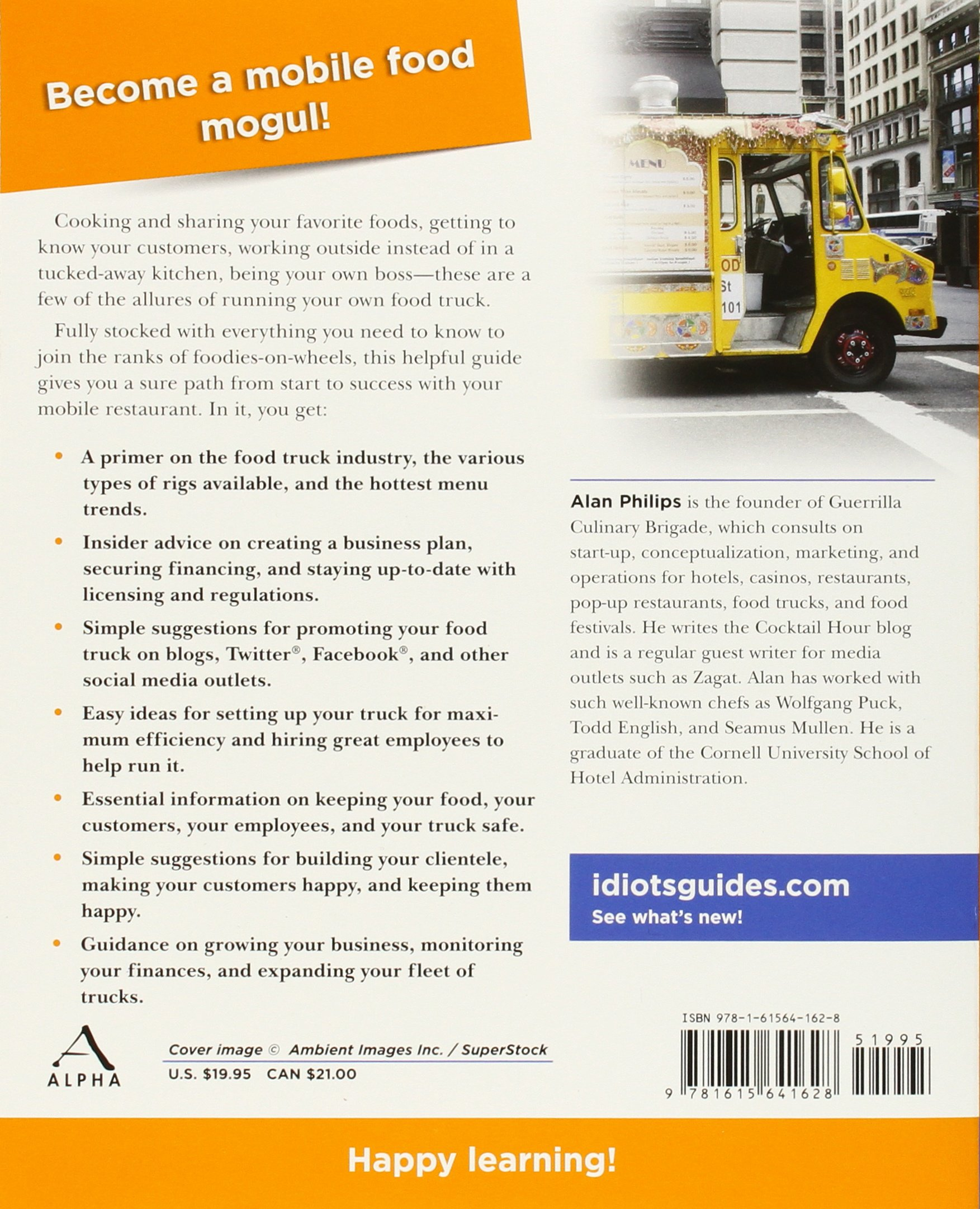 the complete idiot s guide to starting a food truck business alan rh amazon com Food Truck Business Ideas Food Truck Business Ideas