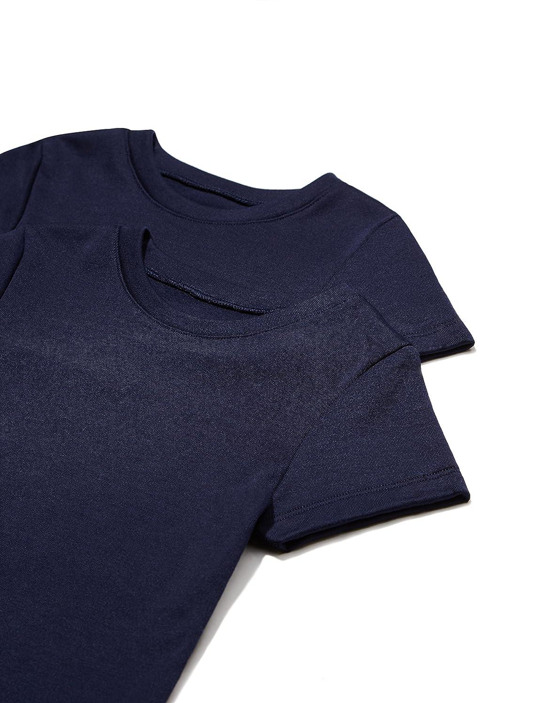 RED WAGON Camiseta Básica Niñas, Pack de 2 BELK110