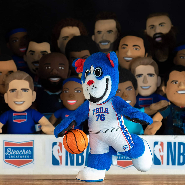 Amazon Com Bleacher Creatures Philadelphia 76ers Franklin 10 Plush Figure A Mascot For Play Or Display Toys Games