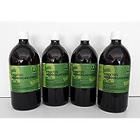 Effektive Mikroorganismen Aktiv (EM-Aktiv), Bodenhilfsstoff - Dünger 4 X 1 l Fl.