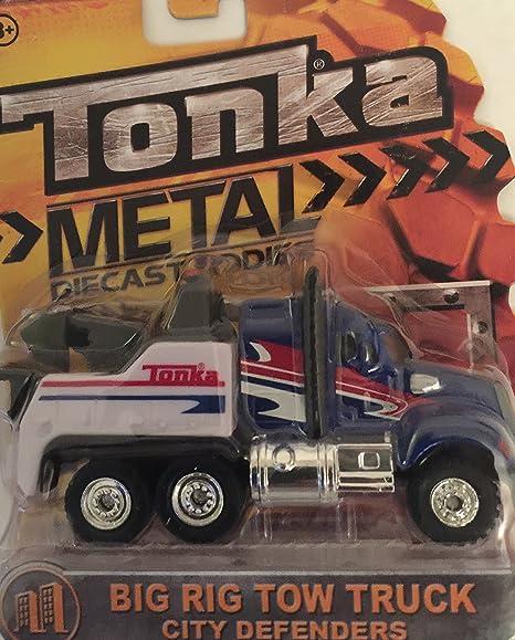 Die Cast Cars TootieToy Lot of 6 Metal Trucks Tonka Tow Truck Baja