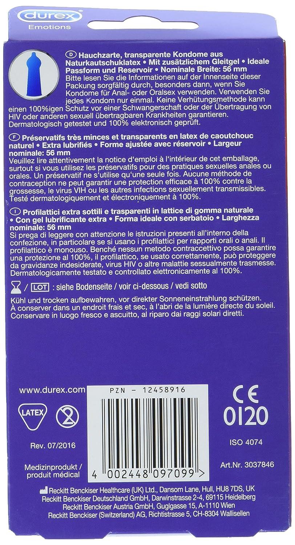 Nominale breite kondom
