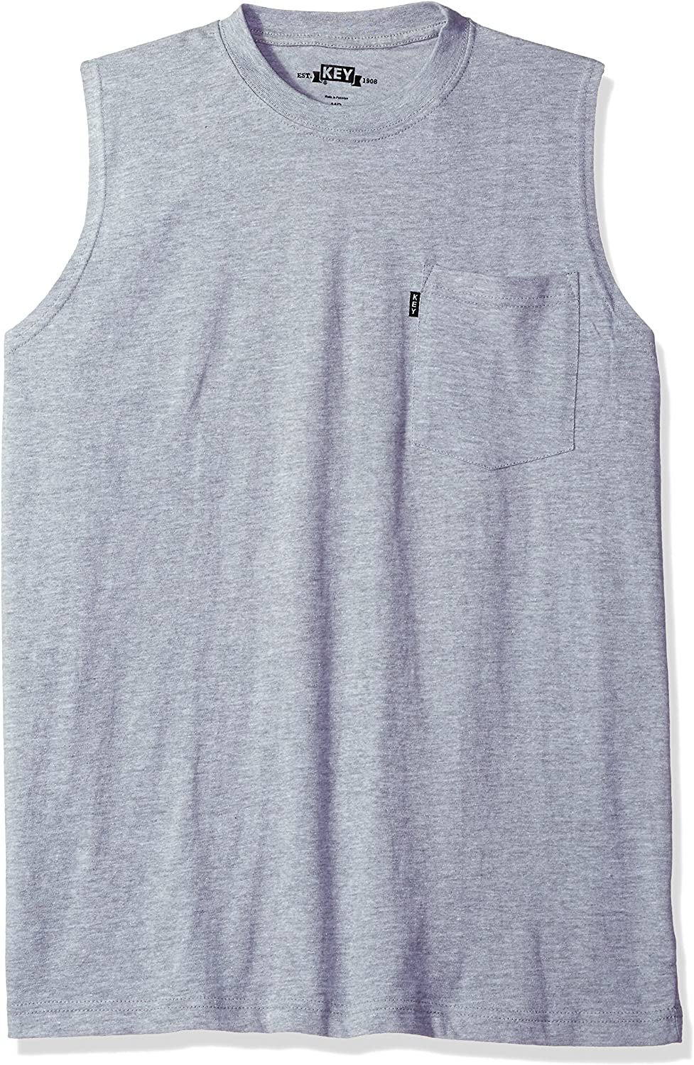 Key Apparel Men's Big and Tall Sleeveless Tee Big & Tall: Clothing