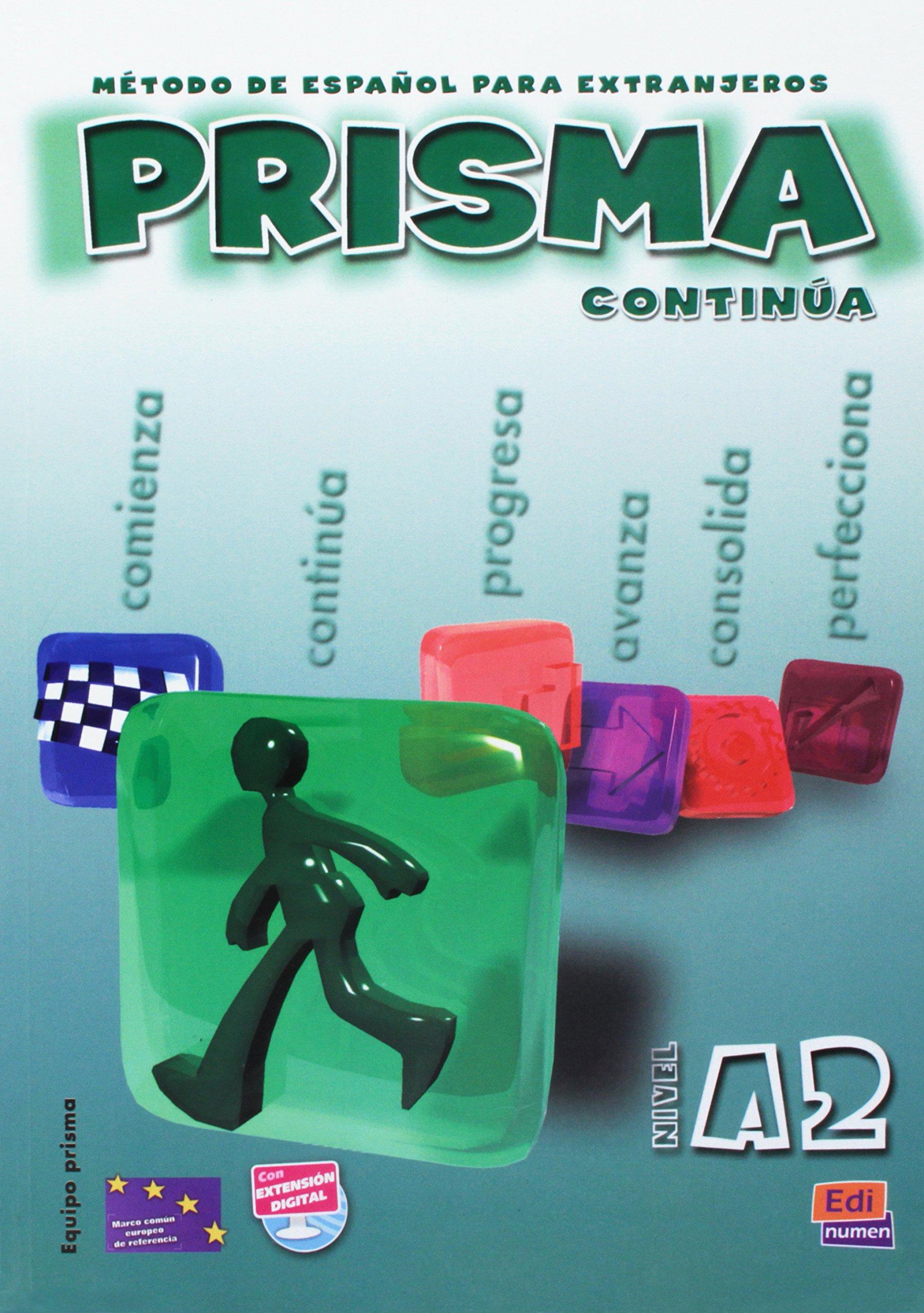 Prisma A2 Continua / Prisma A2 Continue: Metodo de espanol ...