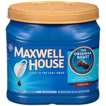 Maxwell House Coffee, Original, 30.6 Ounce