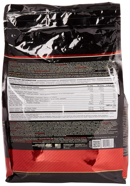 Optimum Nutrition Gold Standard 100% Whey Proteína en Polvo, Fresa - 4540 g: Amazon.es: Salud y cuidado personal