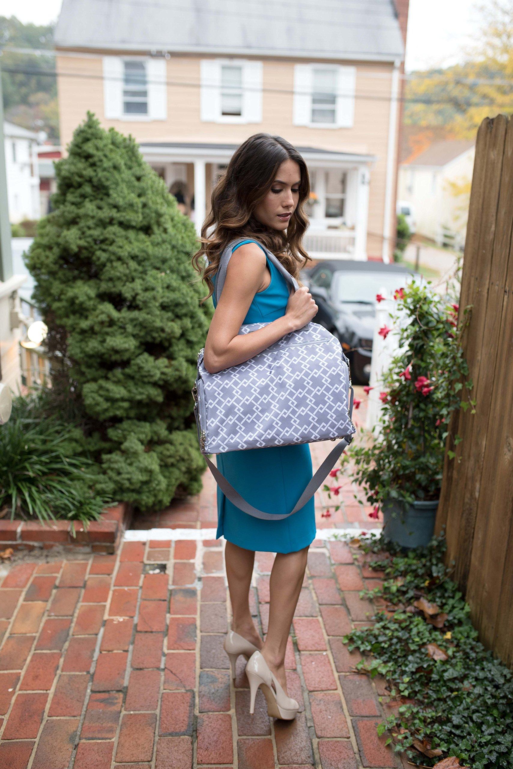 Sarah Wells Lizzy Breast Pump Bag (Gray) by Sarah Wells (Image #1)
