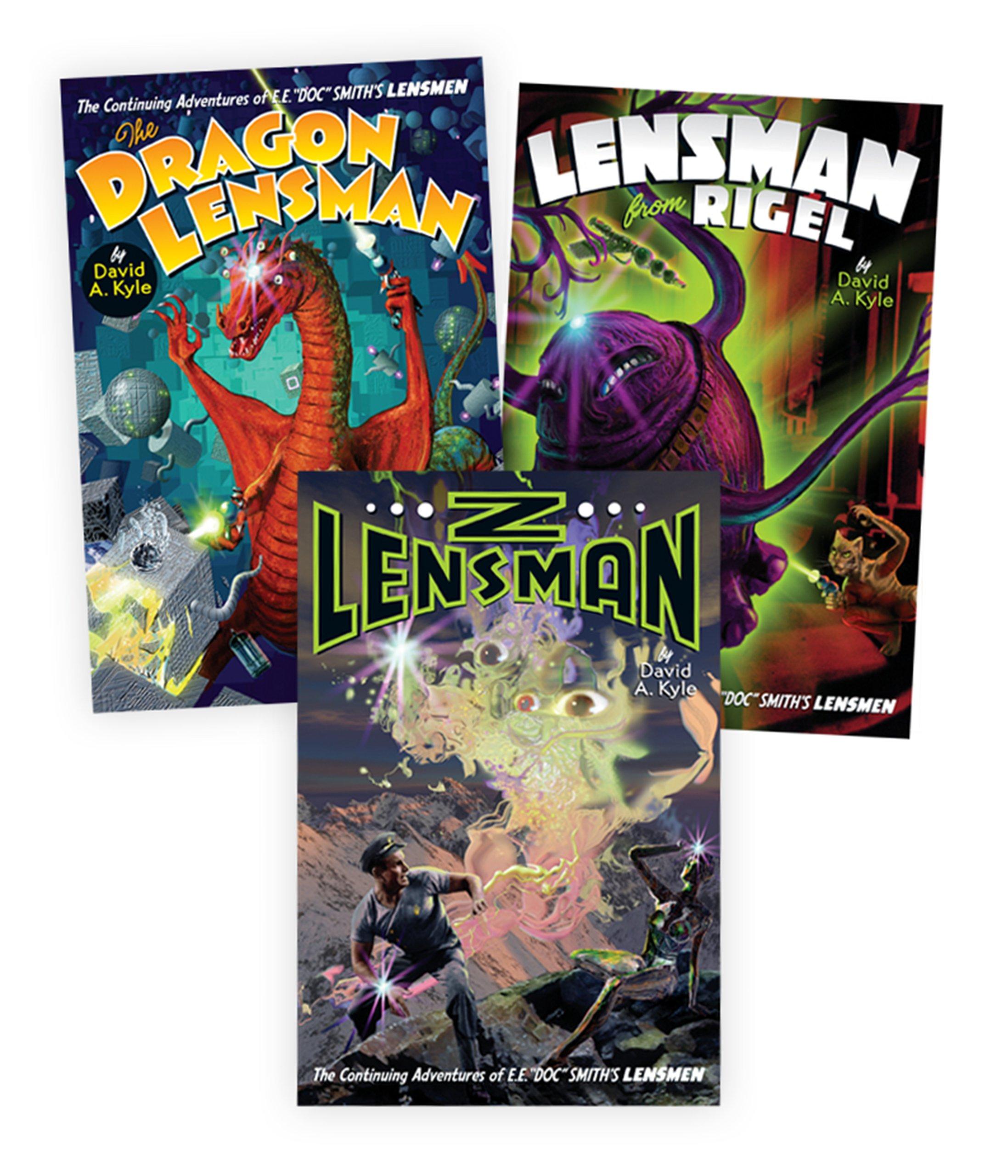 Download Second Stage Lensmen: The Dragon Lensman, Lensman From Rigel, and Z-Lensman (Three Book Set) (Second Stage Lensmen Saga) PDF